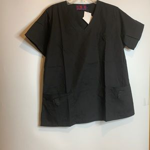 NWT Beverly Hills Uniforms Scrubs Top Large L